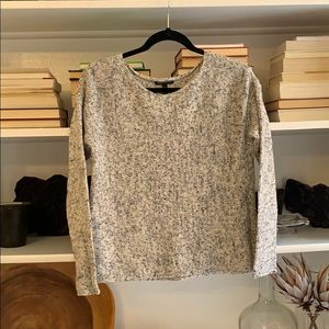 Eileen Fisher boxy knit pullover sweater